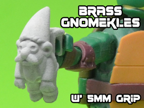Brass Gnomeckles (5mm) in White Strong & Flexible