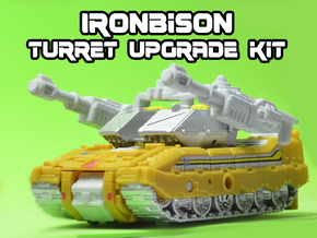 IronBison Turret Upgrade Kit in White Natural Versatile Plastic
