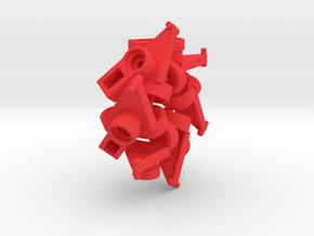 Slangeklemmer-HF-6 in Red Processed Versatile Plastic
