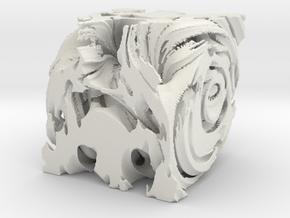 Painblock, solid. in White Natural Versatile Plastic