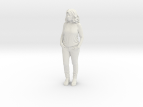 Printle C Femme 257 - 1/24 - wob in White Natural Versatile Plastic