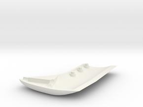 MTD Airspeed Sensor Bottom, pixhawk, apm in White Natural Versatile Plastic