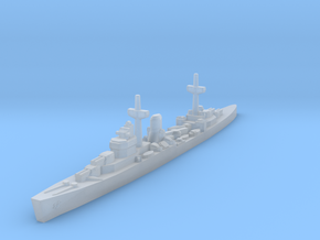 Leander class (WWII) 1/1800 in Smooth Fine Detail Plastic