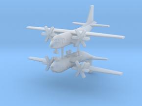 1/500 C-27J Spartan (x2) in Smooth Fine Detail Plastic