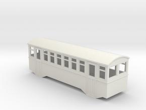 HOe bogie railcar trailer  in White Natural Versatile Plastic