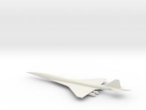 1/400 NASA HIGH SPEED CIVIL TRANSPORT HSCT in White Natural Versatile Plastic