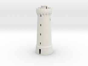 HOpb40 - Large brittany lighthouse in White Natural Versatile Plastic