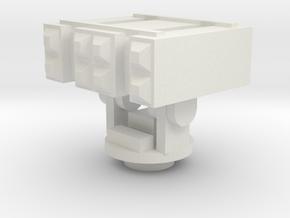 1/144 Scale BPDMS in White Natural Versatile Plastic