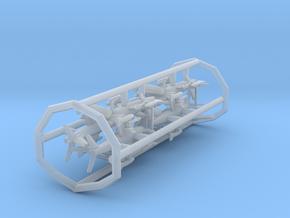 FJ-3M w/gear x8 (FUD) in Smooth Fine Detail Plastic: 1:700