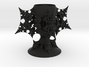 9th Holy Grail of the Holy Grail of 3D Fractals in Black Natural Versatile Plastic