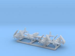AD-5W/A-1E w/gear x4 (FUD) in Smooth Fine Detail Plastic: 1:700