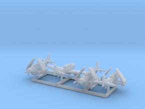 AD-5W/A-1E w/gear x4 (FUD) in Smooth Fine Detail Plastic: 1:500