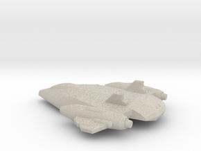 'Phoenix' Space Fighter 6mm V2 in Natural Sandstone