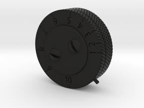 ANH Scope Pro Version - Wheel in Black Natural Versatile Plastic
