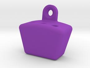 Dart Rack (fits 3 darts) in Purple Processed Versatile Plastic