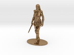Xena Miniature in Raw Brass: 1:60.96