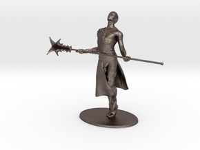 Giant Slayer Miniature in Polished Bronzed Silver Steel: 1:60.96