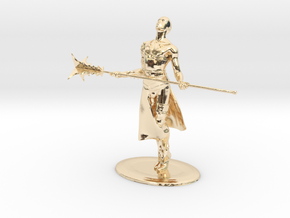Giant Slayer Miniature in 14k Gold Plated: 1:60.96