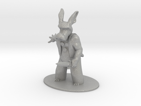Cerebus the Aardvark Miniature in Raw Aluminum: 1:60.96