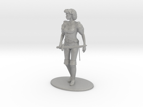 Maquesta Kar-Thon Miniature in Raw Aluminum: 1:60.96