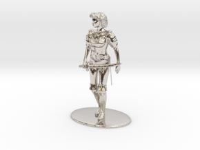 Maquesta Kar-Thon Miniature in Rhodium Plated Brass: 1:60.96