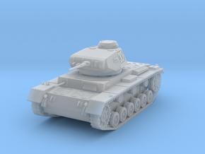 PV154B Pzkw IIIF Medium Tank (1/100) in Smooth Fine Detail Plastic