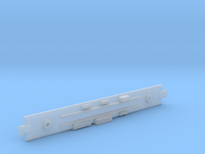 D&RGW Baggage Car  Underframe in Smooth Fine Detail Plastic