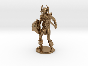 Warduke  Miniature in Natural Brass: 1:60.96