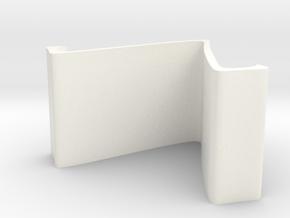 手機架.stl in White Processed Versatile Plastic