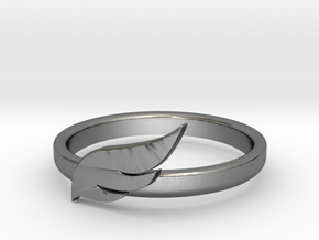 Wings of The Ring in Polished Silver
