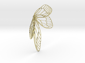 wing in 18k Gold