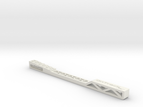 Pod Droop Gauge - Version 2 in White Strong & Flexible