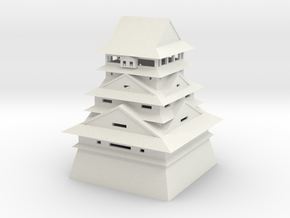 Kumamoto Castle in White Strong & Flexible