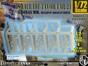 1-72 Ctar-Gtar 16 Units Tavor SET in Frosted Extreme Detail