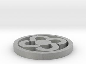 Four rings pendant in Metallic Plastic