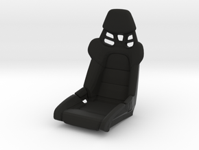 Race Seat P-RS-991-Type - 1/10 in Black Natural Versatile Plastic