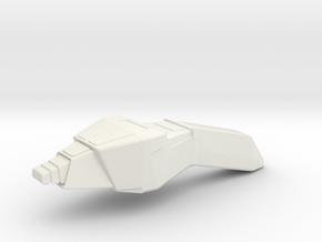 Type 2 Phaser (Star Trek Next Generation), 1/6 in White Natural Versatile Plastic