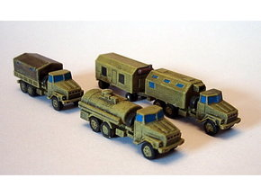 Kraz 260 Trucks 1/200 in Frosted Ultra Detail
