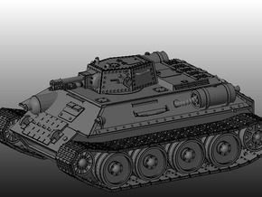 Ice Guards OT-34 Flamethrower tank in White Strong & Flexible