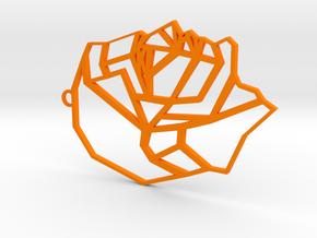 The Man in Orange Processed Versatile Plastic