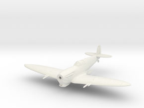 Spitfire MkVC Tropical in White Natural Versatile Plastic: 1:100