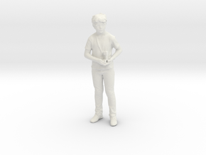 Printle C Kid 003 - 1/24 - wob in White Natural Versatile Plastic
