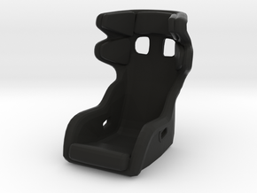 Race Seat P-CUP17 - 1/10 in Black Natural Versatile Plastic