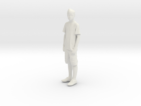 Printle C Kid 006 - 1/24 - wob in White Strong & Flexible