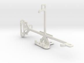 Plum Axe Plus 2 tripod & stabilizer mount in White Natural Versatile Plastic