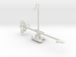 Posh Titan Max HD E600 tripod & stabilizer mount in White Natural Versatile Plastic