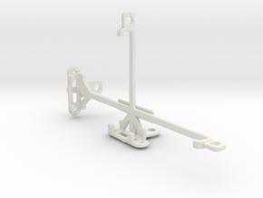 QMobile Noir Z9 Plus tripod & stabilizer mount in White Natural Versatile Plastic