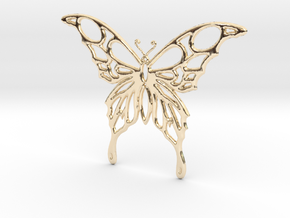 Butterfly 1 in 14K Yellow Gold