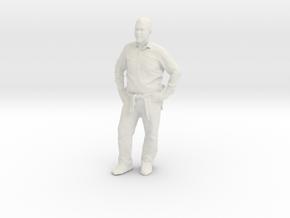 Printle C Homme 302 - 1/24 - wob in White Natural Versatile Plastic