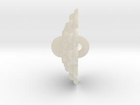 Zeeuwseknoop5 Met Buiten Oogje Nautilus in White Acrylic